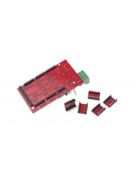 3D Printer RAMPS 1.4 Control Boards + 4988 Driver Kit w/ Heatsinks