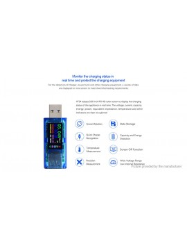 Ruideng AT34 USB 3.0 Digital Multimeter Voltmeter Ammeter