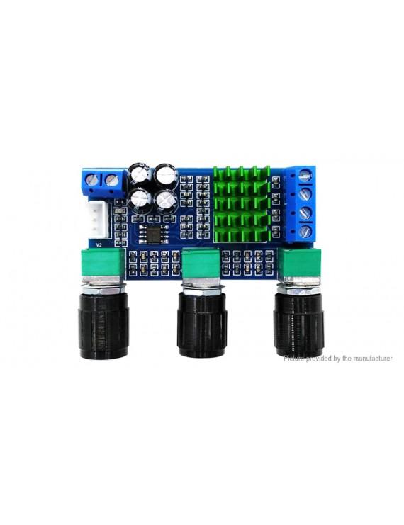 XH-M567 DC 12-24V 2*80W Digital Audio Amplifier