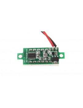 "0.28"" 3-Digit LED Voltmeter Module"