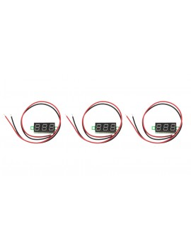 "0.28"" 3-Digit LED Voltmeter Module (3-Pack)"
