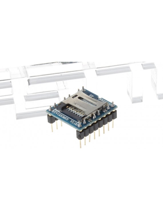 WTV020M01 V1.00 MP3 U-disk Audio Player SD Card Voice Module