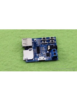 MicroSD Card U-disk MP3 Format Decoder Board Amplifier Decoding Audio Player Module