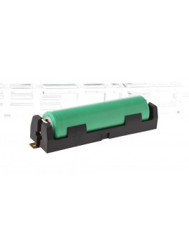 1*18650 Battery Holder Case w/ SMD Mount