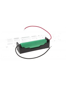 1*18650 Battery Holder Case w/ Lead Wires