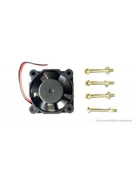 DIY 5V Blow Radial Cooling Fan for Raspberry Pi Model B / B+