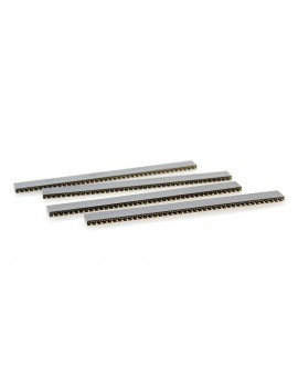 1*40-pin 2.54mm Pin Sockets (10-Pack)